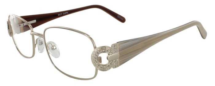 Prescription Glasses Model DC77-GOLD-45