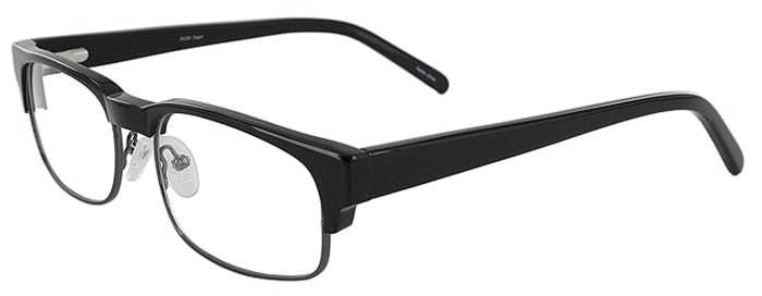 Prescription Glasses Model DC80-BLACK-45