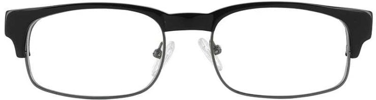 Prescription Glasses Model DC80-BLACK-FRONT