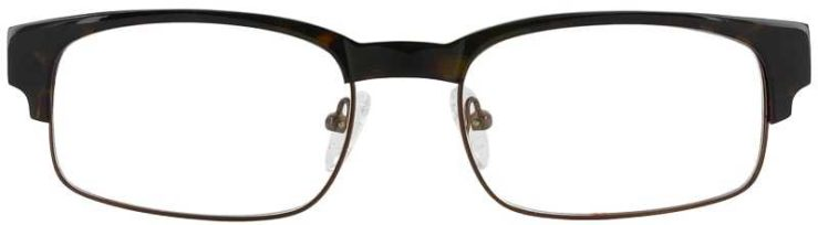 Prescription Glasses Model DC80-TORTOISE-FRONT