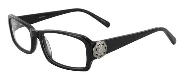 Prescription Glasses Model DC84-BLACK-45
