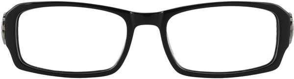 Prescription Glasses Model DC84-BLACK-FRONT