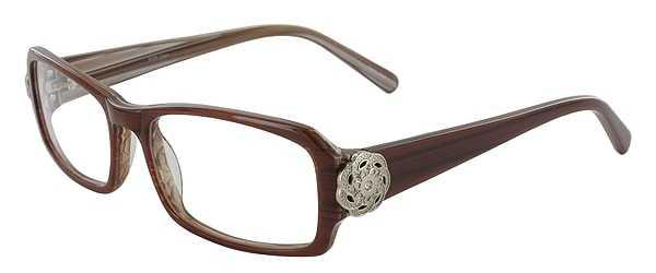 Prescription Glasses Model DC84-BROWN-45