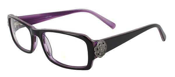 Prescription Glasses Model DC84-PURPLE-45