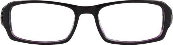 Prescription Glasses Model DC84-PURPLE-FRONT