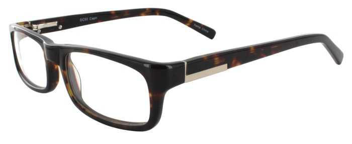 Prescription Glasses Model DC92-TORTOISE-45