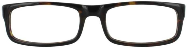 Prescription Glasses Model DC92-TORTOISE-FRONT