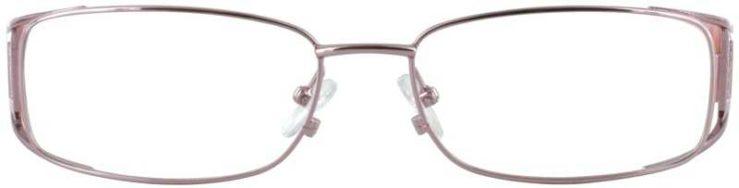 Prescription Glasses Model DC96-PINK-FRONT