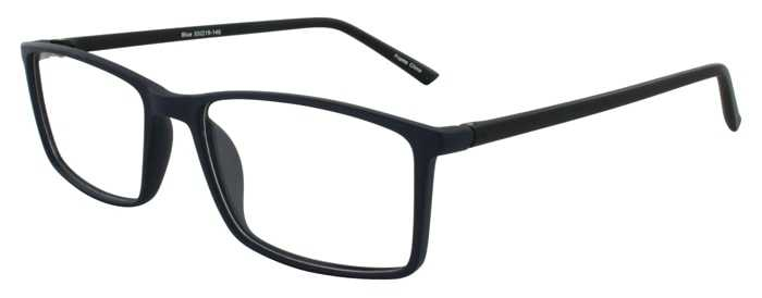 Prescription Glasses Model ETHAN-BLUE-45