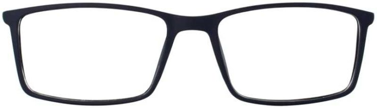Prescription Glasses Model ETHAN-BLUE-FRONT