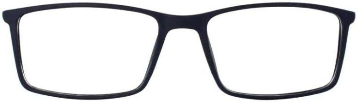 Prescription Glasses Model ETHAN-BLUE-FRONT
