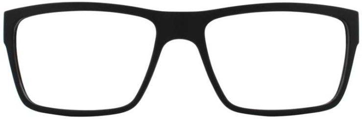 Prescription Glasses Model EVAN-BLACK-FRONT