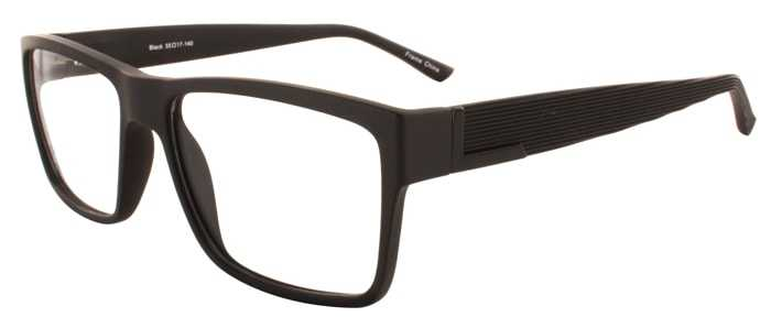 Prescription Glasses Model EVAN-BROWN-45