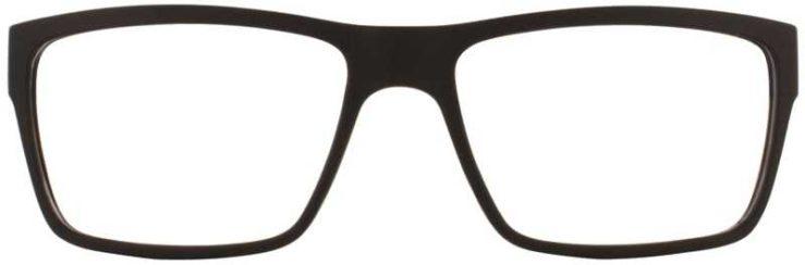 Prescription Glasses Model EVAN-BROWN-FRONT