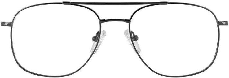 Prescription Glasses Model FX10-BLACK-FRONT