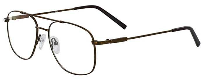 Prescription Glasses Model FX10-COFFEE-45