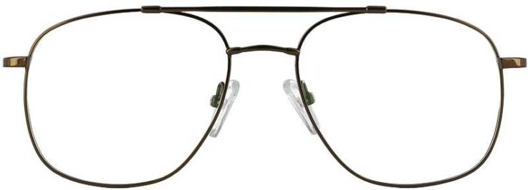 Prescription Glasses Model FX10-COFFEE-FRONT