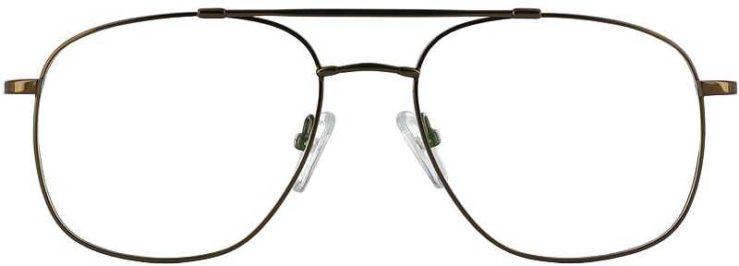 Prescription Glasses Model FX10-COFFEE-FRONT