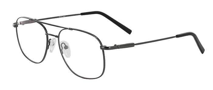 Prescription Glasses Model FX10-GUNMETAL-45