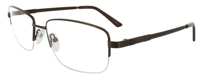 Prescription Glasses Model FX101-BROWN-45