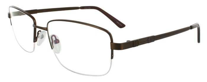 Prescription Glasses Model FX101-BROWN-45