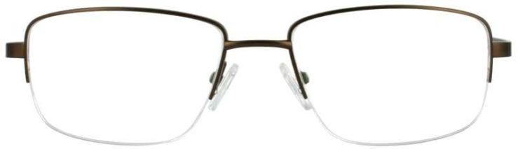 Prescription Glasses Model FX101-BROWN-FRONT