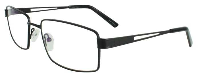 Prescription Glasses Model FX104-BLACK-45