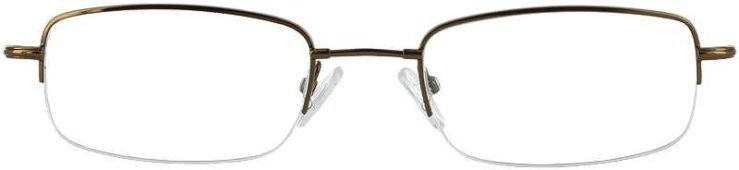 Prescription Glasses Model FX13-COFFEE-FRONT