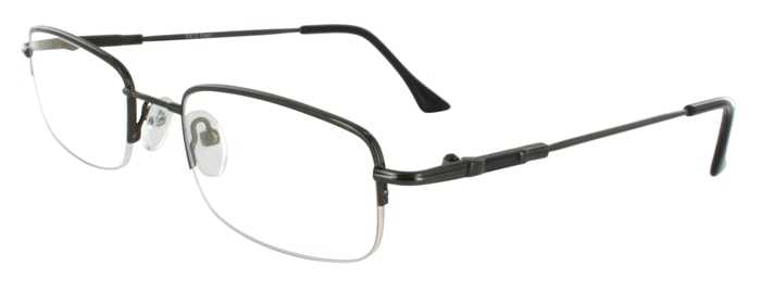 Prescription Glasses Model FX13-GUNMETAL-45