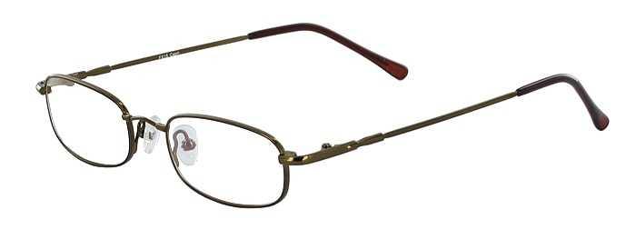 Prescription Glasses Model FX15-COFFEE-45