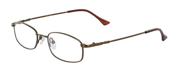Prescription Glasses Model FX17-COFFEE-45