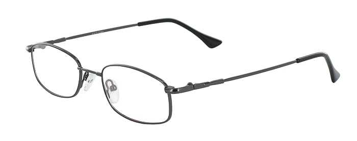 Prescription Glasses Model FX17-GUNMETAL-45