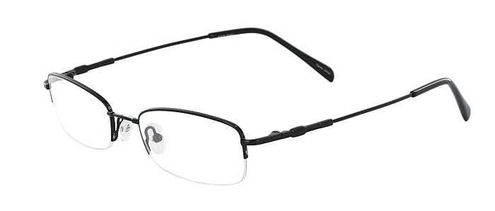 Prescription Glasses Model FX20-BLACK-45