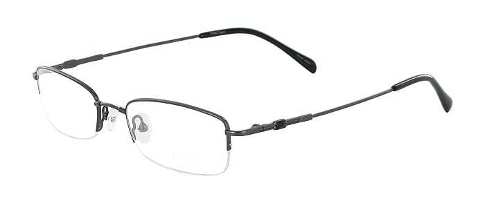 Prescription Glasses Model FX20-GUNMETAL-45