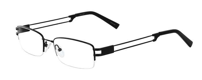 Prescription Glasses Model FX22-BLACK-45