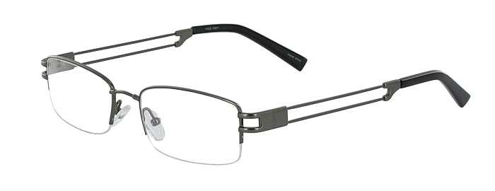 Prescription Glasses Model FX22-GUNMETAL-45