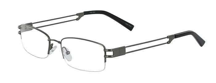 Prescription Glasses Model FX22-GUNMETAL-45