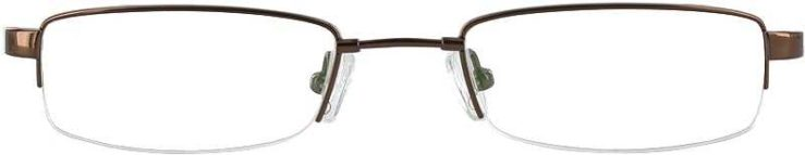 Prescription Glasses Model FX23-COFFE-FRONT