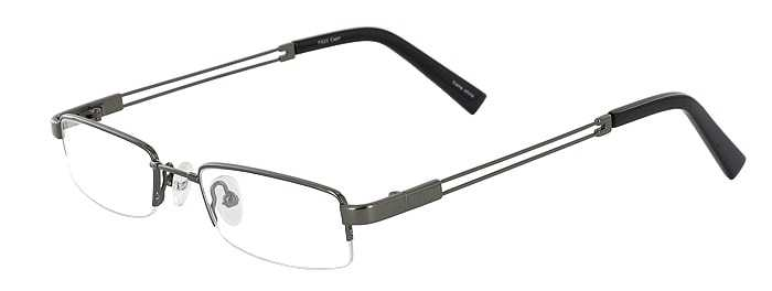 Prescription Glasses Model FX23-GUNMETAL-45