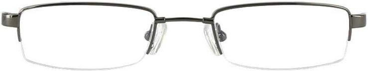 Prescription Glasses Model FX23-GUNMETAL-FRONT