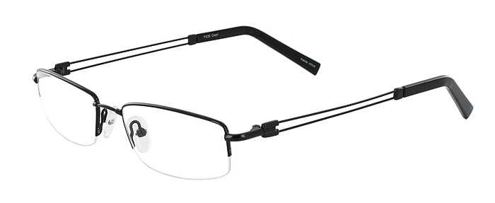 Prescription Glasses Model FX25-BLACK-45