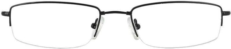 Prescription Glasses Model FX25-BLACK-FRONT
