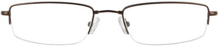 Prescription Glasses Model FX25-COFFEE-FRONT