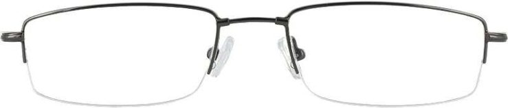 Prescription Glasses Model FX25-GUNMETAL-FRONT