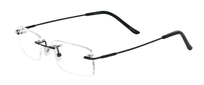 Prescription Glasses Model FX26-BLACK-45