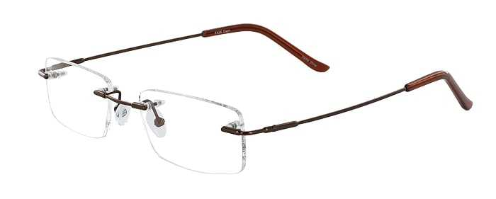 Prescription Glasses Model FX26-COFFEE-45
