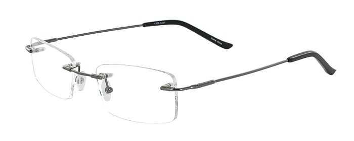 Prescription Glasses Model FX26-GUNMETAL-45