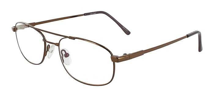 Prescription Glasses Model FX27-COFFEE-45