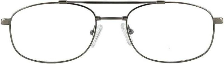 Prescription Glasses Model FX27-GUMETAL-FRONT