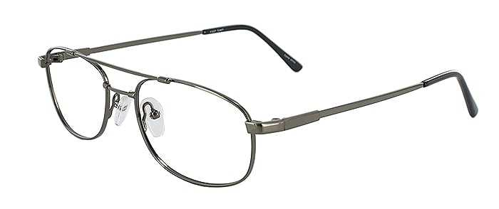 Prescription Glasses Model FX27-GUNMETAL-45